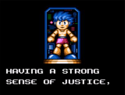 Guión de Mega Man (Game Gear)