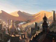 City in the desert by rhynn-d54q06a
