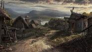Viking village by drake1024-d8926p6