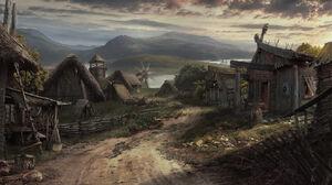Viking village by drake1024-d8926p6.jpg