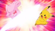 EP1171 Pikachu usando cola férrea