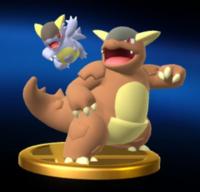 Trofeo de Mega-Kangaskhan SSB4 (Wii U)