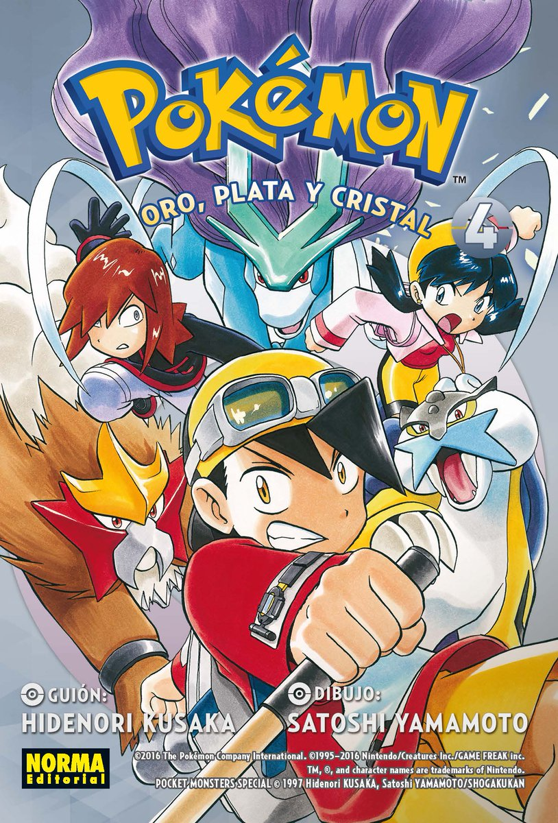 Tomo 4 (Pokémon Oro, Plata y Cristal)