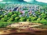 Lugares del anime en Johto