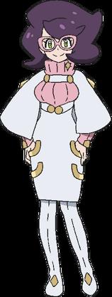 <i>Zyra en Pokémon Sol y Pokémon Luna</i>