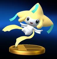 Trofeo de Jirachi SSB4 Wii U