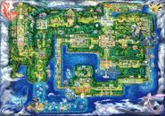 Mapa Kanto Pokémon Let's Go