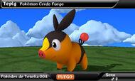 Pokédex 3D (español) Tepig