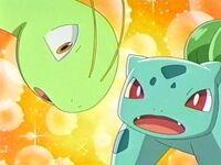 EP270 Bulbasaur de Ash y Meganium de Vincent