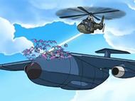 EP565 Equipo Galaxia asaltando el avión de la policía