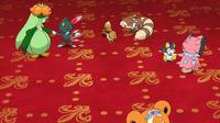 EP908 Pokémon bailando