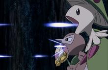P13 Pokémon del bosque usando recurrente