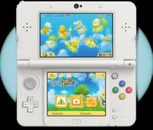 Tema 3DS Pokémon Mundo Megamisterioso 2