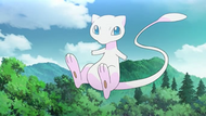 Mew en el episodio de 4 de Pokémon: los orígenes