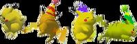 Paleta de colores de Pikachu SSB