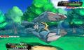 Mega-Metagross en combate