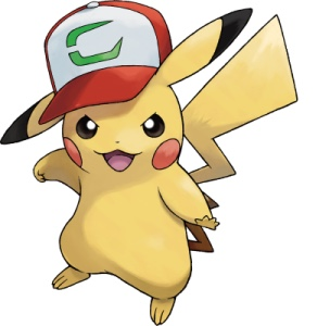 Pikachu con gorra