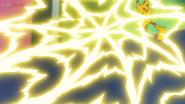 EP1171 Pikachu usando electrotela
