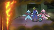 EP777 Hiroto y sus Pokémon con escafandra