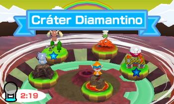 Imagen de Cráter Diamantino