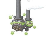Gas reactivo
