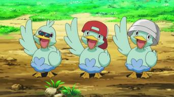 Trío Ducklett (anime)