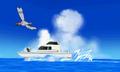 Barco del señor Arenque y Peeko ROZA