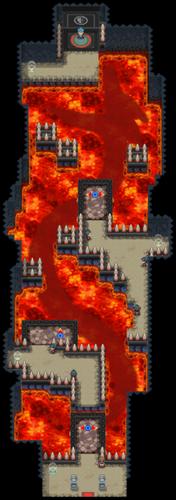 Interior del Gimnasio de Endrino en los videojuegos
