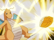 EP114 Dragonite usando rayo