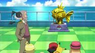 EP826 Estatua del Magikarp dorado
