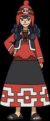 """Ilustración de Juanita en la <!--LINK'"""" 0:0-->"""