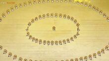 EP1081 varios Meltan haciendo un ritual para fusionarse