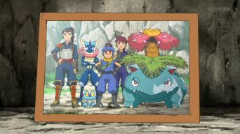 EP902 Foto de Ippei, Nihei y Sanpei con sus Pokémon.png
