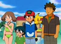 EP296 Max, Aura, Ash y Brock