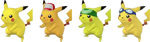 Paleta de colores de Pikachu SSBB