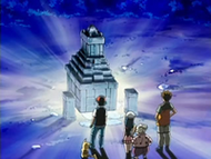 EP525 El monumento se ilumina volviendo a encerrar a Spiritomb