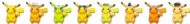 Paleta de colores de Pikachu SSB4