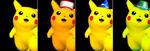 Paleta de colores de Pikachu SSBM