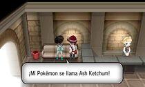 Cameo del nombre de Ash Ketchum XY