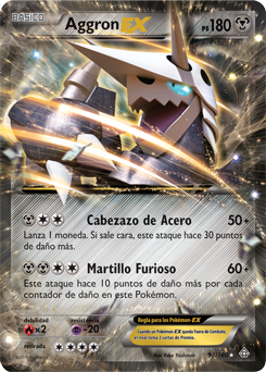 Aggron-EX (Duelos Primigenios TCG)