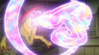 EP1154 Haxorus usando pulso dragón
