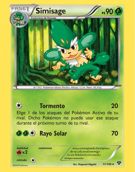 Simisage (TCG XY).png