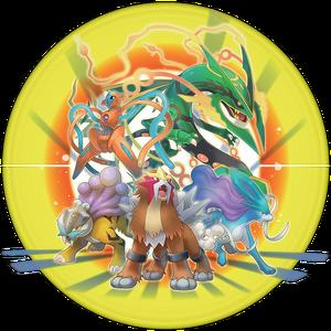 Pokémon legendarios PMMM