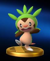 Trofeo de Chespin SSB4 Wii U