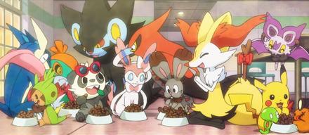 EP912 Pokémon de Ash y sus amigos comiendo.png