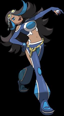 Silvina en Pokémon Rubí Omega y Zafiro Alfa