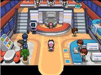 Planta Baja del Centro Pokémon en Black y White