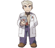 Oak Pokémon Let's Go