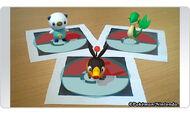 Pokédex 3D RA Snivy, Tepig y Oshawott