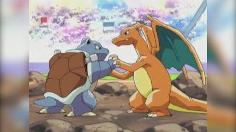 Charizard vs. Blastoise Pokémon Master Quest